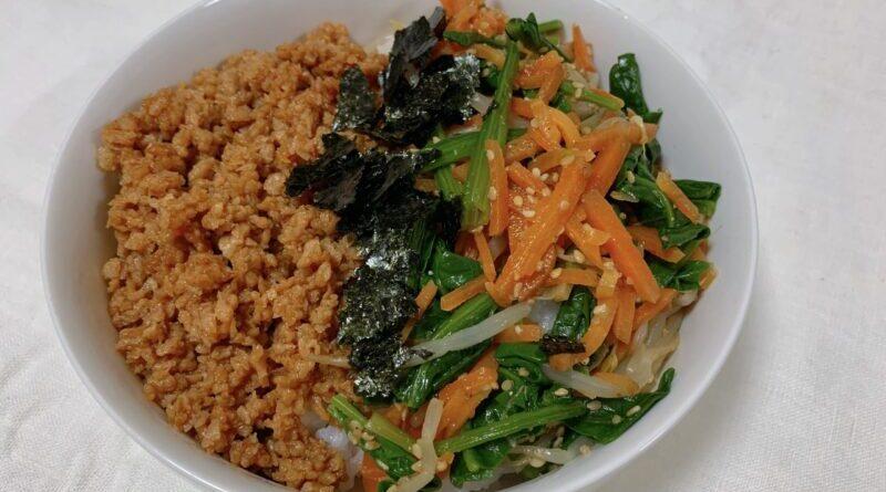 【作り置きアレンジレシピ】簡単ビビンバ
