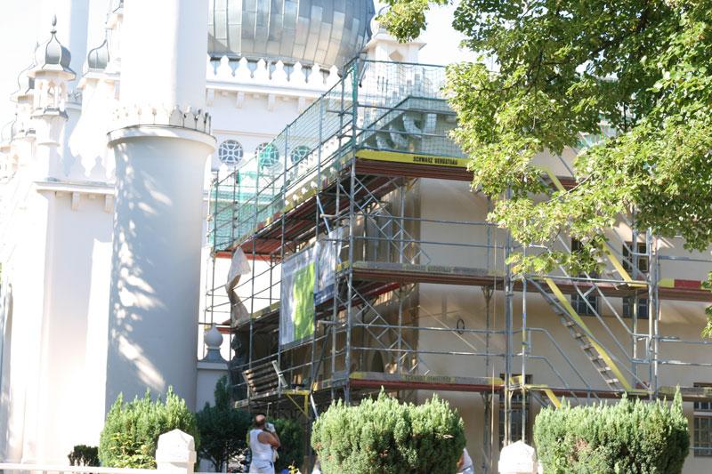 ドイツの建設中のモスク