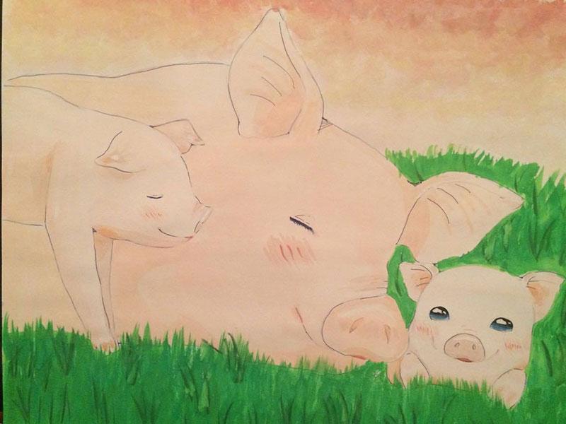 動物たちを解放しよう!!by 凜 中学1年生