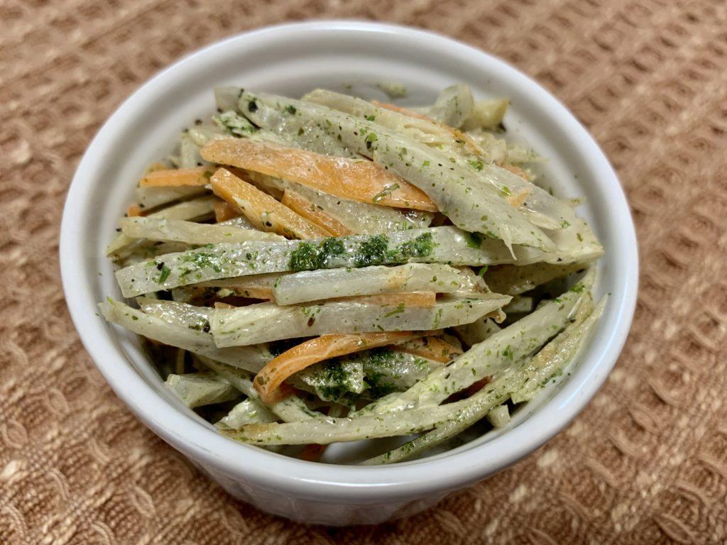 青のり香るごぼうのサラダ