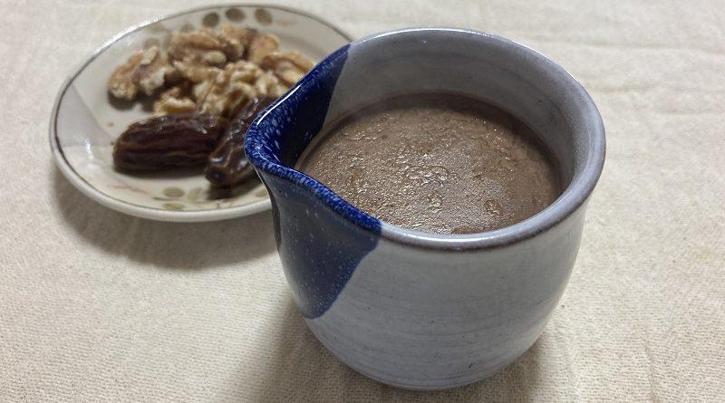 塩麹豆乳ココア