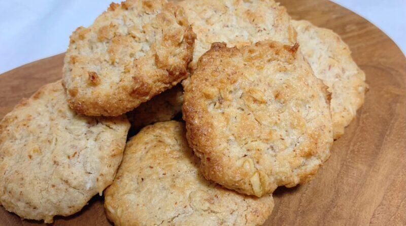 小麦粉なし!基本のヴィーガンオートミールクッキー