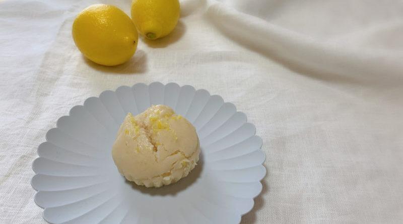 レモン風味の甘酒蒸しパン