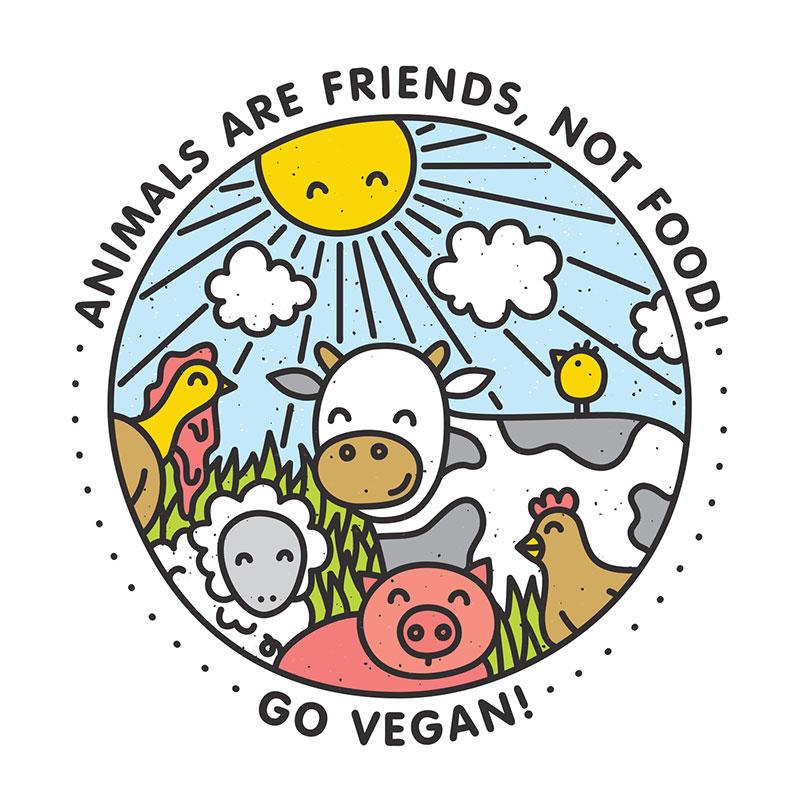 みんなで話し合おう、食べ物のこと、動物のこと  by はるみ 8歳