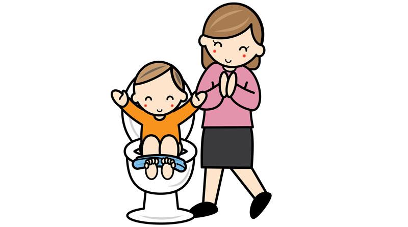 子どもが気持ちよく排泄できるサポートを