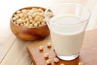 牛乳の代わりの豆乳