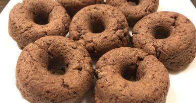 小学生のオーブンで作る簡単焼きドーナツ