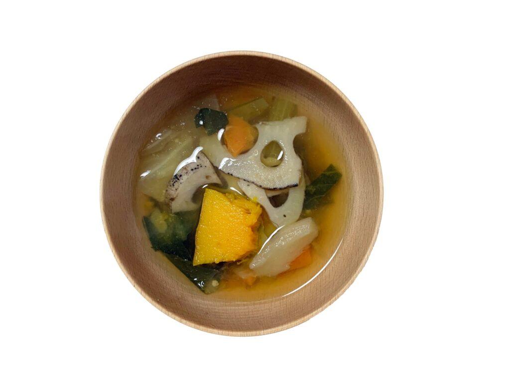 ファイトケミカルたっぷりスープ