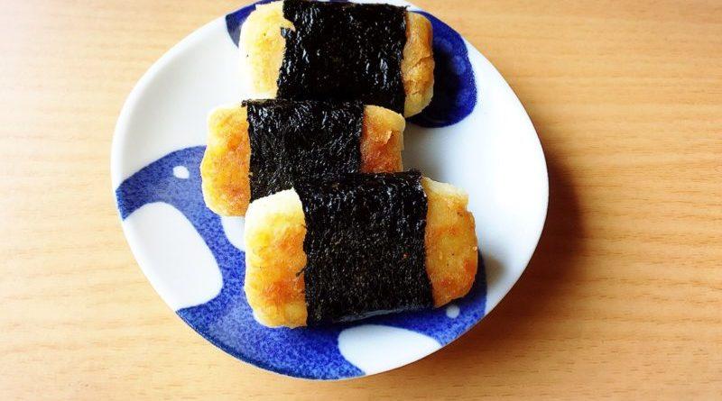芋餅の磯辺焼き