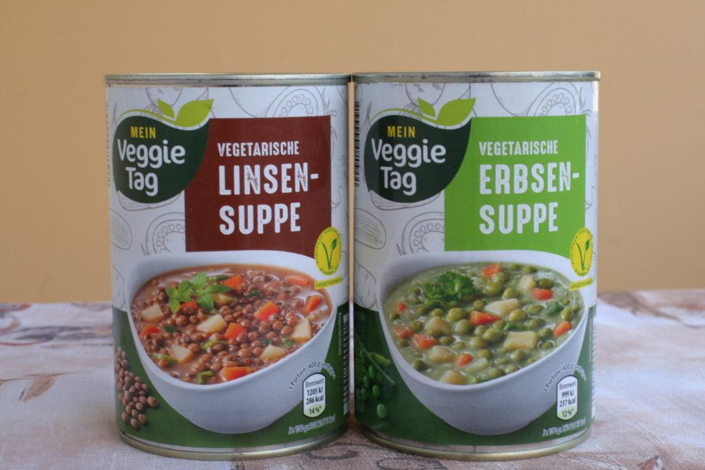 ビーガン向け缶入りスープ