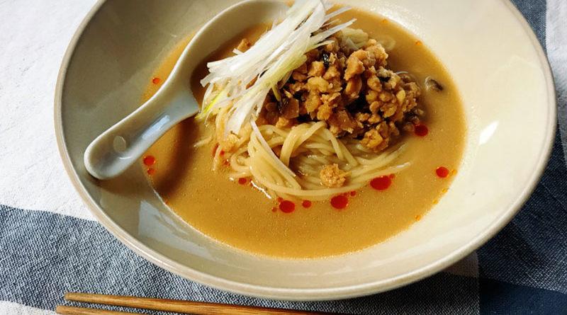豆乳担々麺