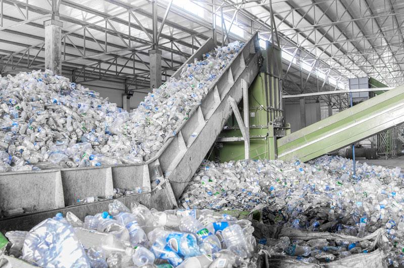 プラスチックゴミのリサイクル