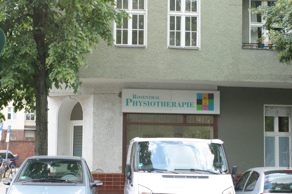 ヒーリングサロンが建ち並ぶドイツの街並