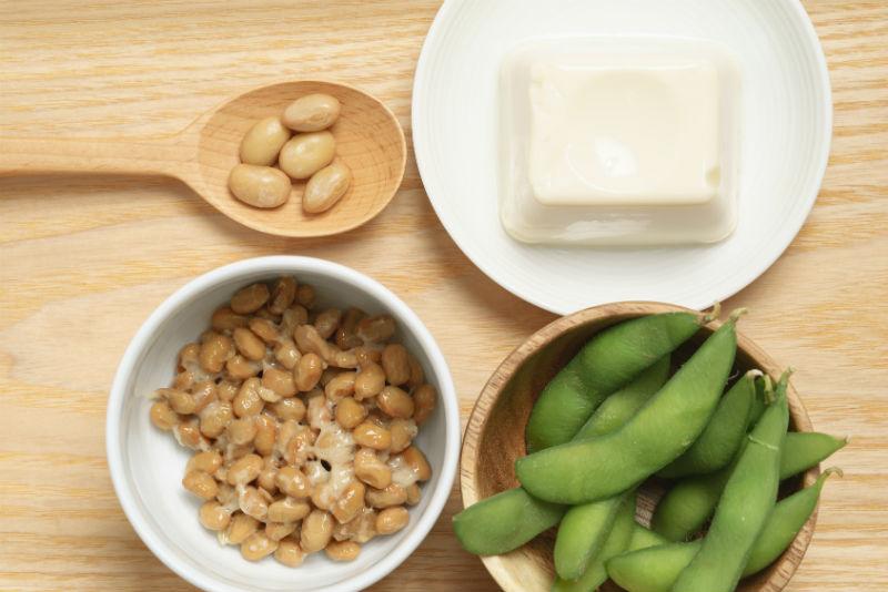 アミノ酸豊富な発酵させた大豆製品